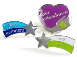 Core value school badges